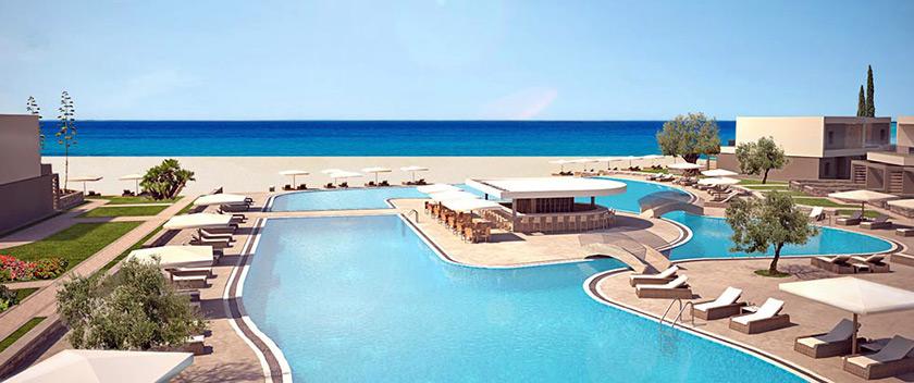 New 5-Star Luxury Complex Going Up in Halkidiki