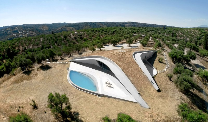 The Peloponnese Dream Villa that Has Gone Viral