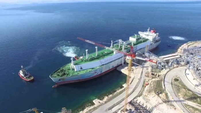 Expansion of Balkans' Only Liquefied Natural Gas Terminal in Attica