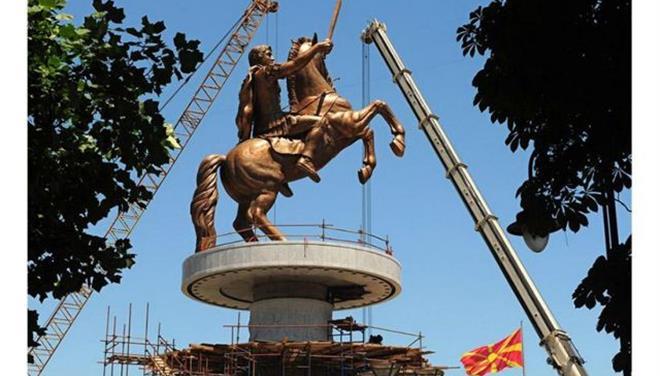 Θ' ανταλλάξουν αγάλματα Σκόπια και Θεσσαλονίκη