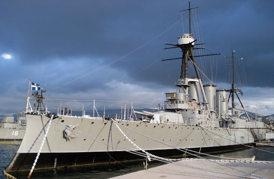 """George Averof"" Naval Ship to Be Revived Alexandros Goulandris"