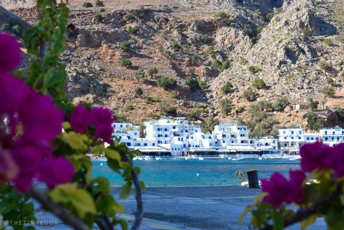 The Beauty of Loutro in Southern Crete