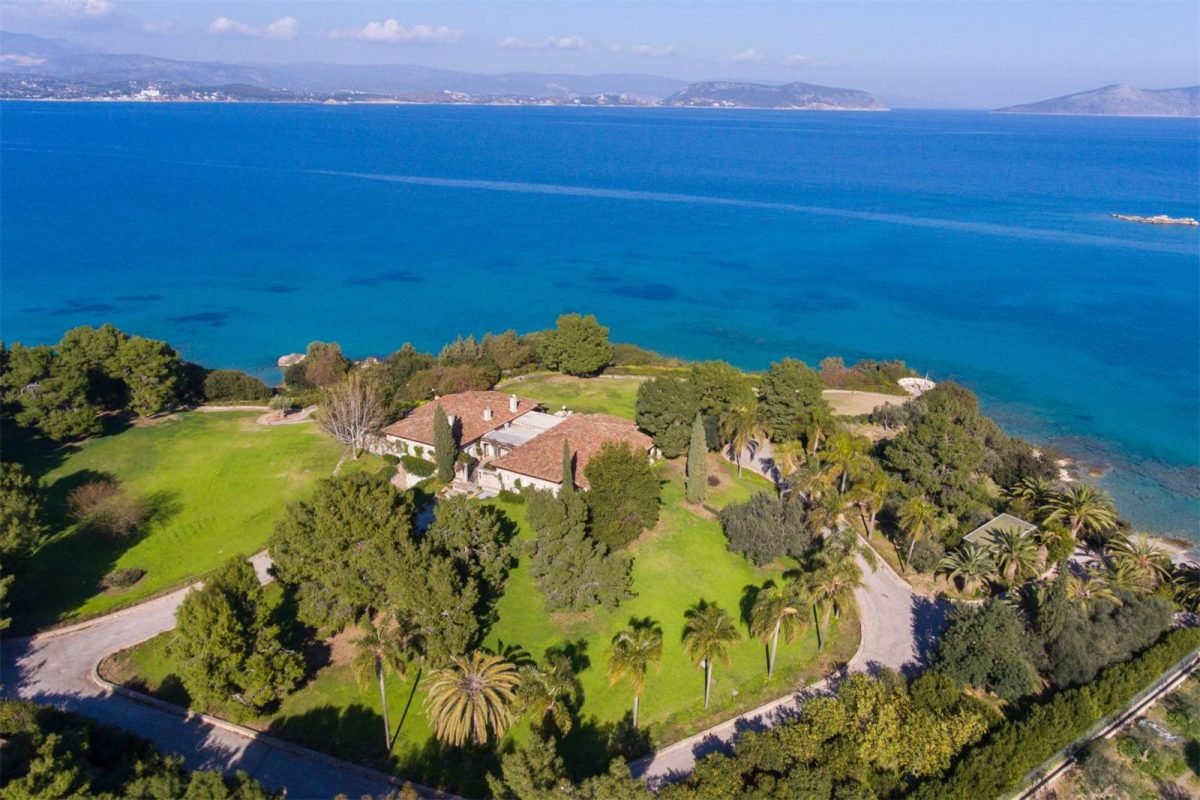The Most Expensive Greek Villa on the Market
