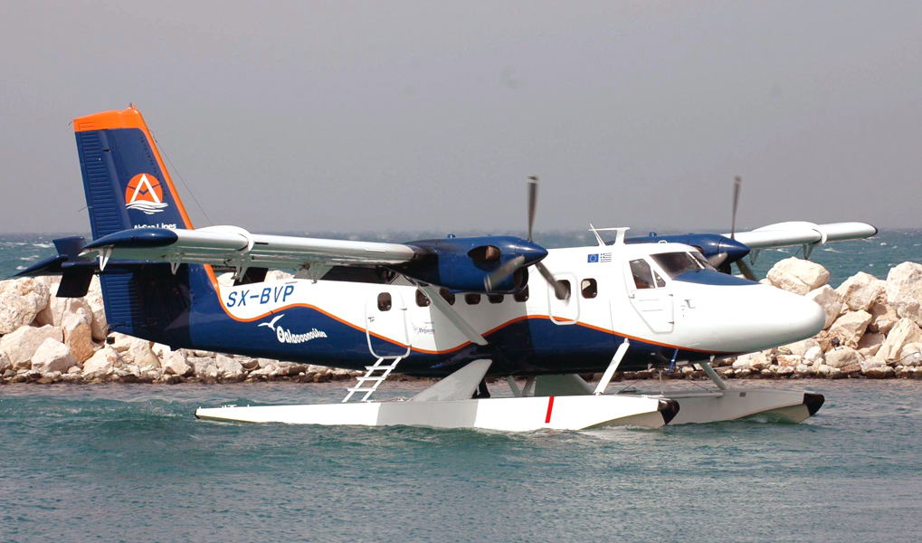 Seaplanes Routes Over Ionian Sea To Be Launched Summer 2016