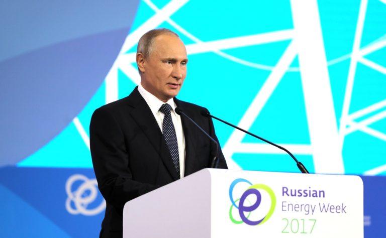 Πούτιν: Ο ρωσικός τομέας ενέργειας ενισχύει σταθερά τη δυναμική του