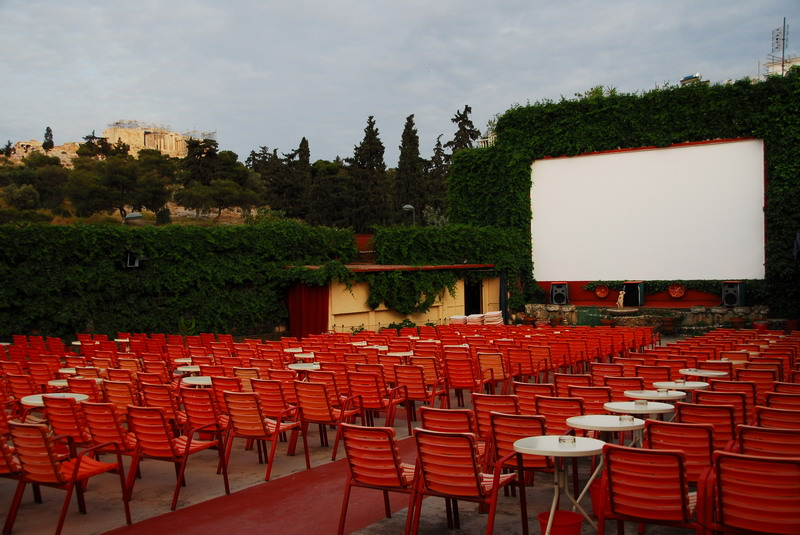Greece's Open-Air Cinemas Come Alive in Summer