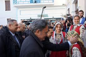 Alexis Tsipras besucht die Inseln Nisyros und Tilos (Dodekanes - Ägäis) und kündigt Maßnahmen zur Förderung des sozialen Zusammenhalts