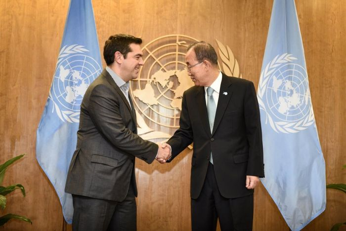 Ban Ki-moon will von Lesbos aus an die Flüchtlingskrise erinnern