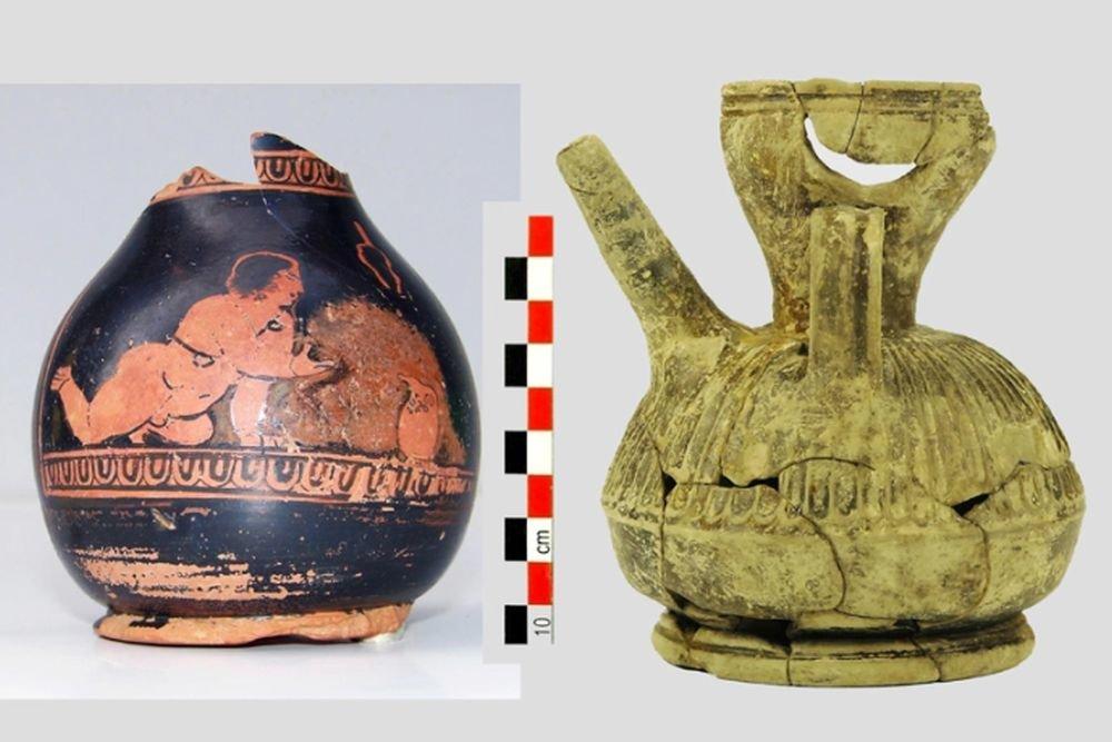 Ценные находки в Греции: строили метро - обнаружили артефакты