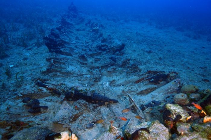 Fast zwei Dutzend antike Schiffswracks vor Inselgruppe Fourni gefunden