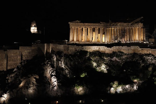 Athens to Turn Off Lights on Saturday for 'Earth Hour'