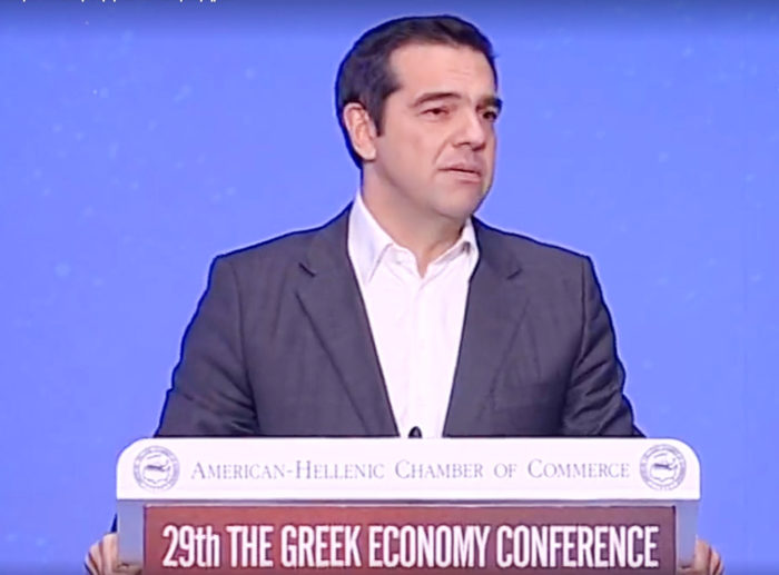 "Tsipras Says ""Greece is a New Economy"""