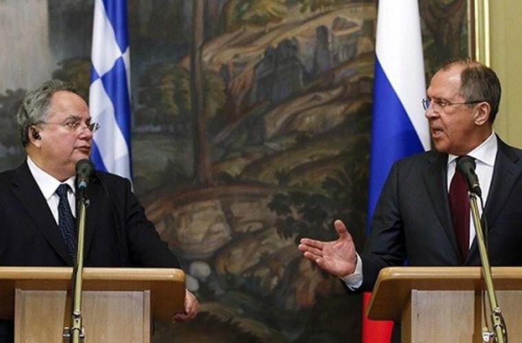 Визит Министра иностранных дел России Сергея Лаврова в Грецию
