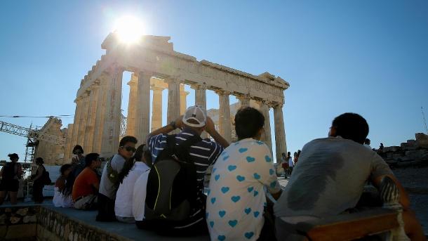 Griechenland stöhnt unter Hitzewelle