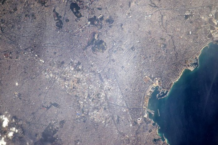 U.S. Astronaut Sends Greetings to Athens From International Space Station