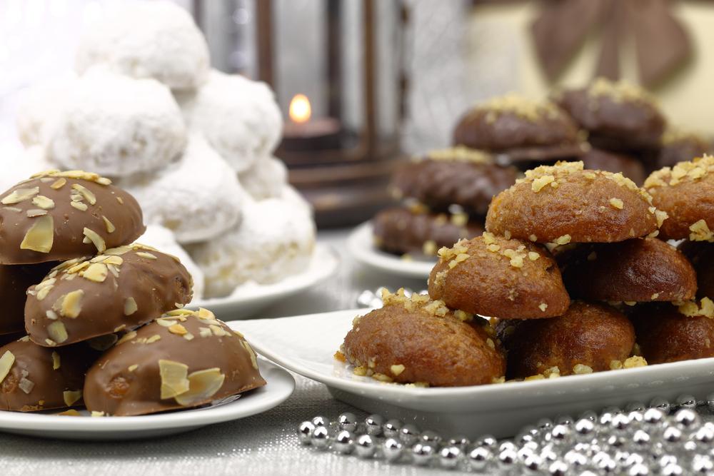 Рождественские греческие сладости