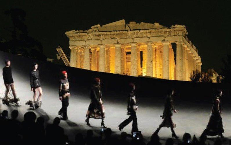 Gucci Requests Permit for Parthenon Runway Show