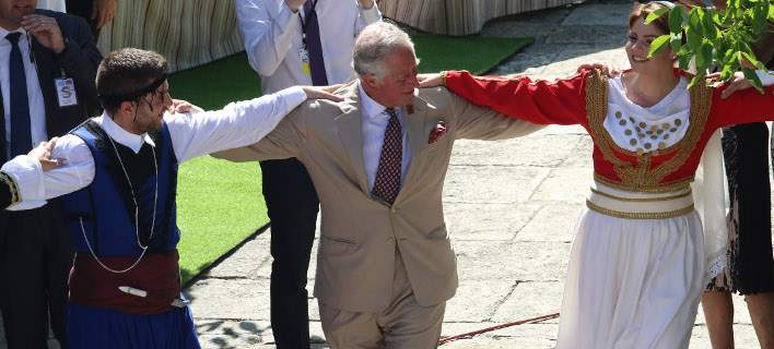 Charles and Camilla Bid Farewell to Greece with a Cretan Dance