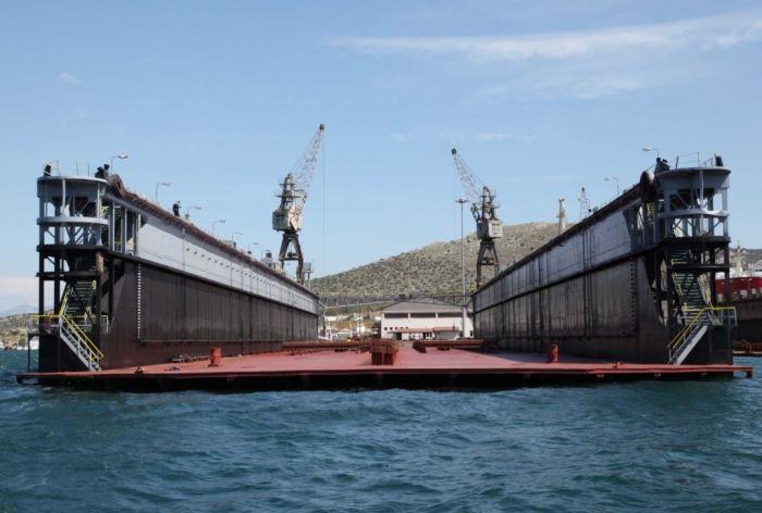 Neue Schwimmdocks in Piräus: Aufschwung für griechische Werften
