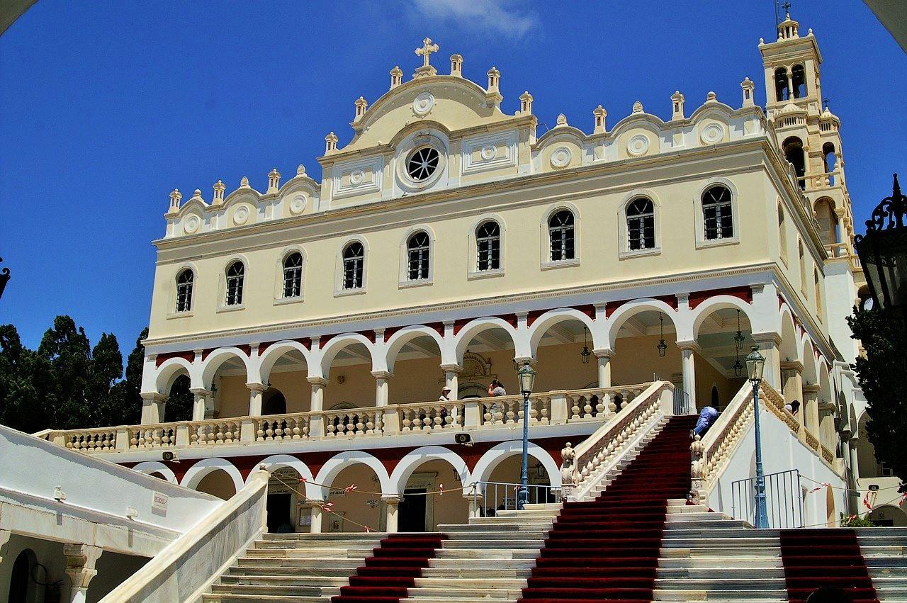 В Греции празднуют Успение Пресвятой Богородицы