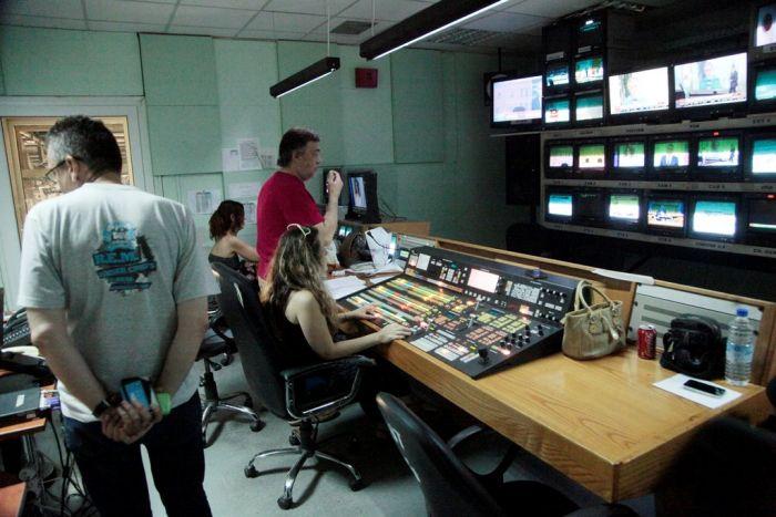 Griechenlands Fernsehlandschaft vor dem Umbruch