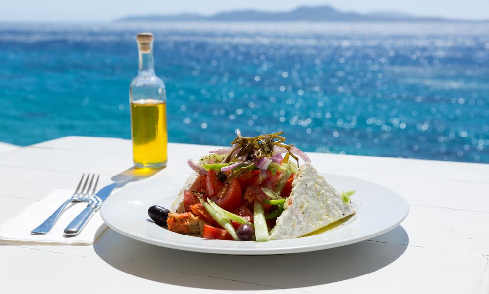 Греция на 4-м месте среди стран с самой вкусной кухней.