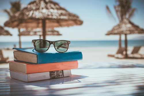 Book-crossing has appeared on the beaches of Kimolos