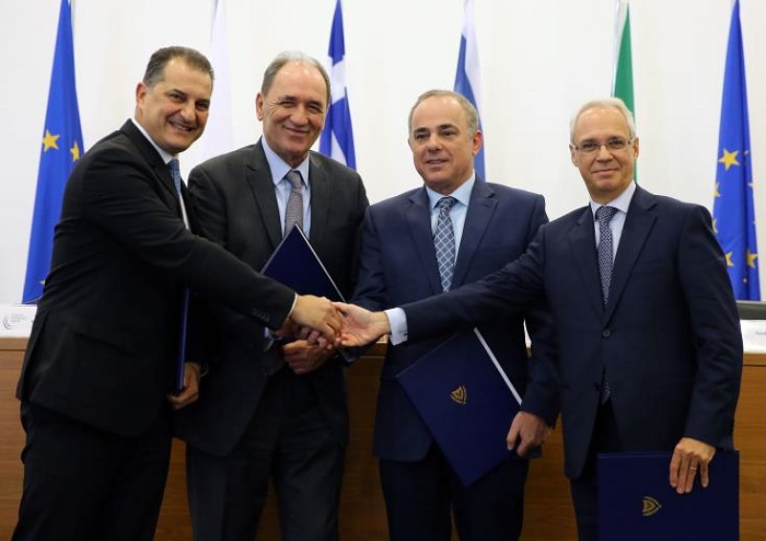 Cyprus, Greece, Italy and Israel Back Gas Pipeline to Europe