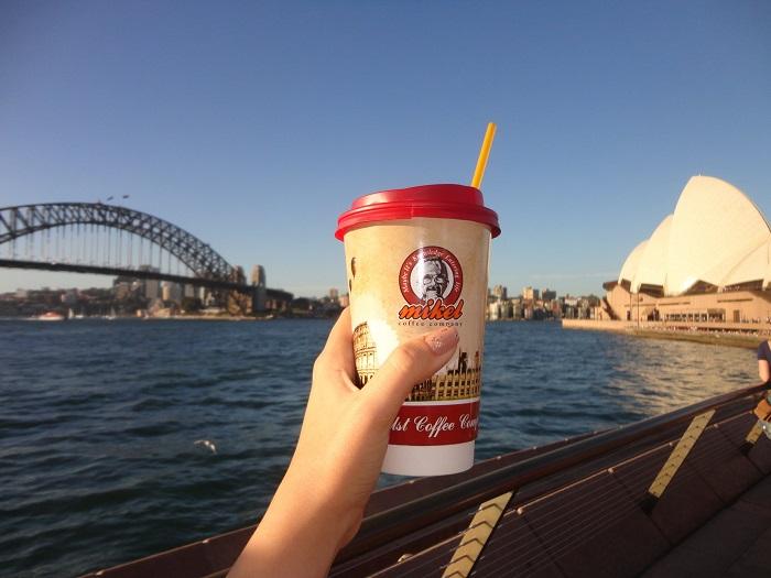 Greek Coffeehouse Chain Opens Sydney Shop
