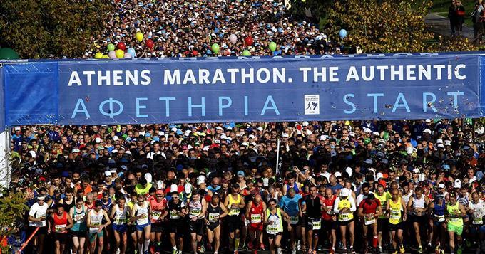 Афинский марафон