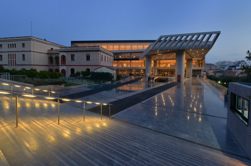 The Acropolis Museum is one the best museums in the world