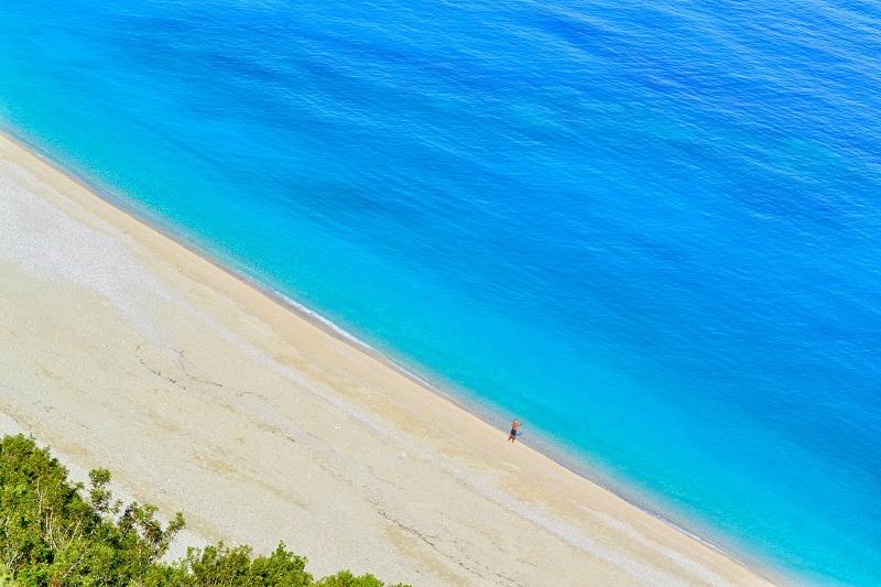 96% греческих пляжей имеет чистейшую воду
