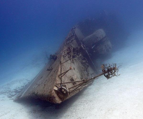 Затонувшие древние корабли
