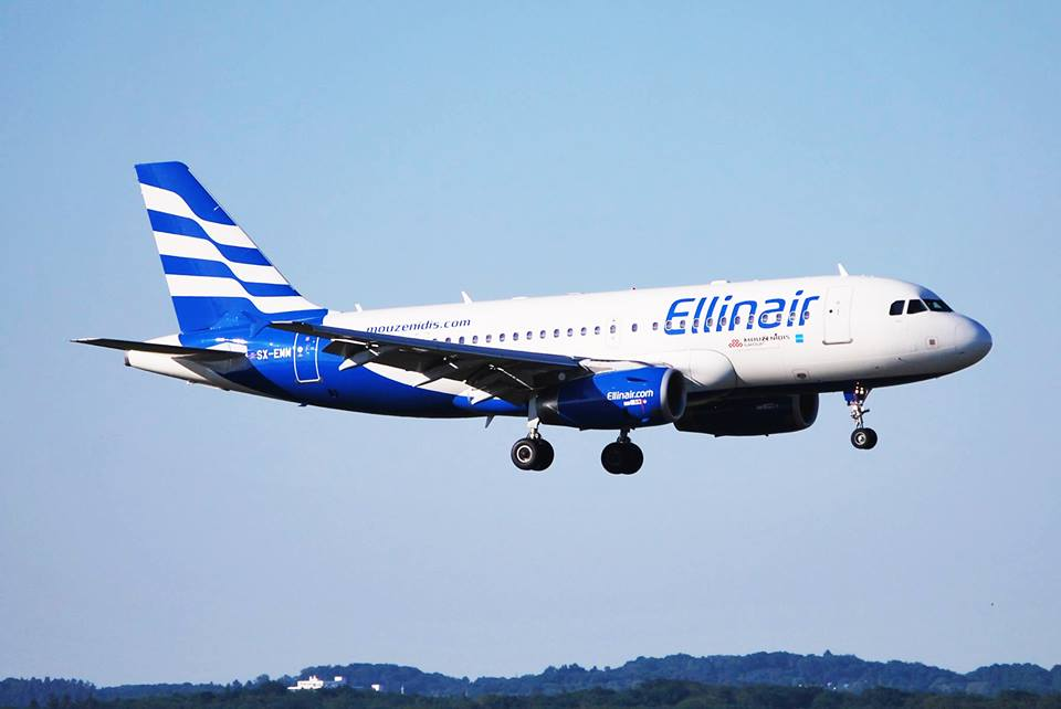 Ellinair has been recognized as the fastest growing company in the domestic market of Greece