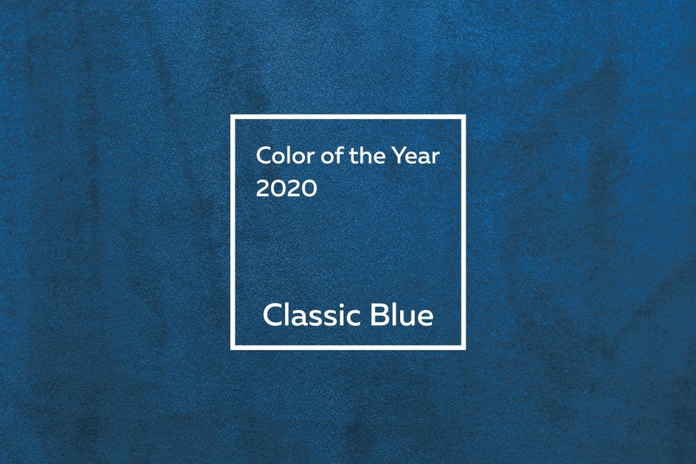 Институт цвета Pantone определил самый модный цвет 2020 года