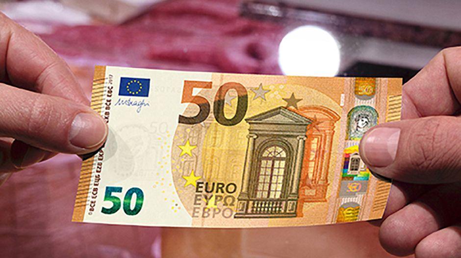 У квітні введуть в обіг нову купюру 50 €