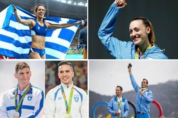 Griechenlands historisch fünftbeste Olympia-Präsenz in Rio
