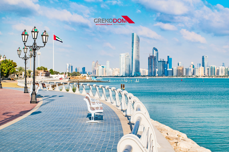 Представительство компании Grekodom Development в Абу-Даби, ОАЭ!