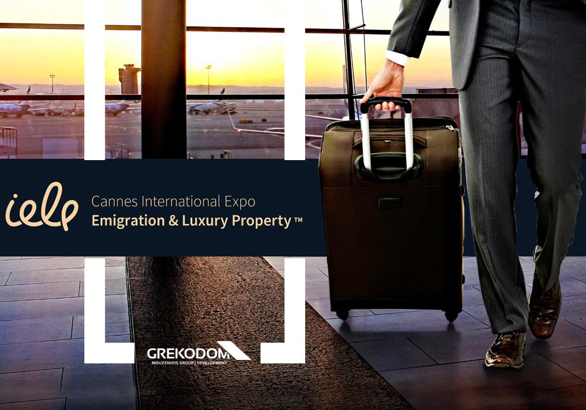 """Компания Grekodom Development - участник выставки """"CannesInternational Emigration & Luxury Property Expo """"!"""