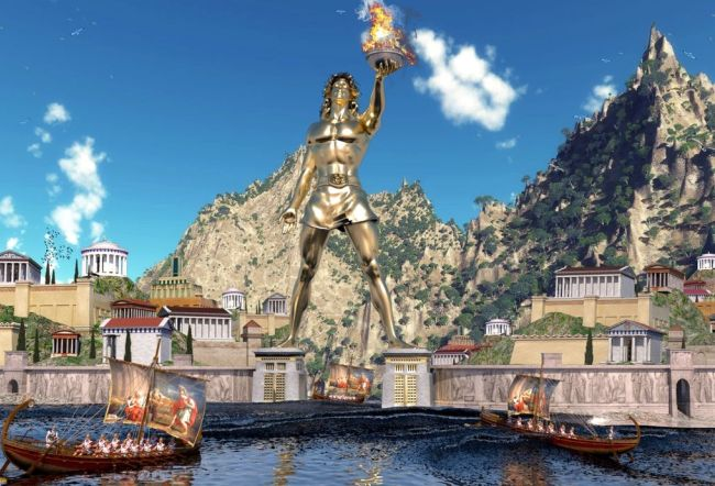 """""""The Return Of the Colossus Of Rhodes"""""""