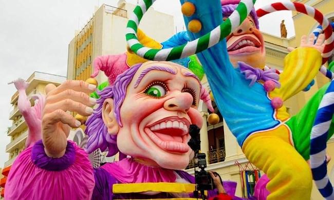 Традиционный карнавал в Патрах