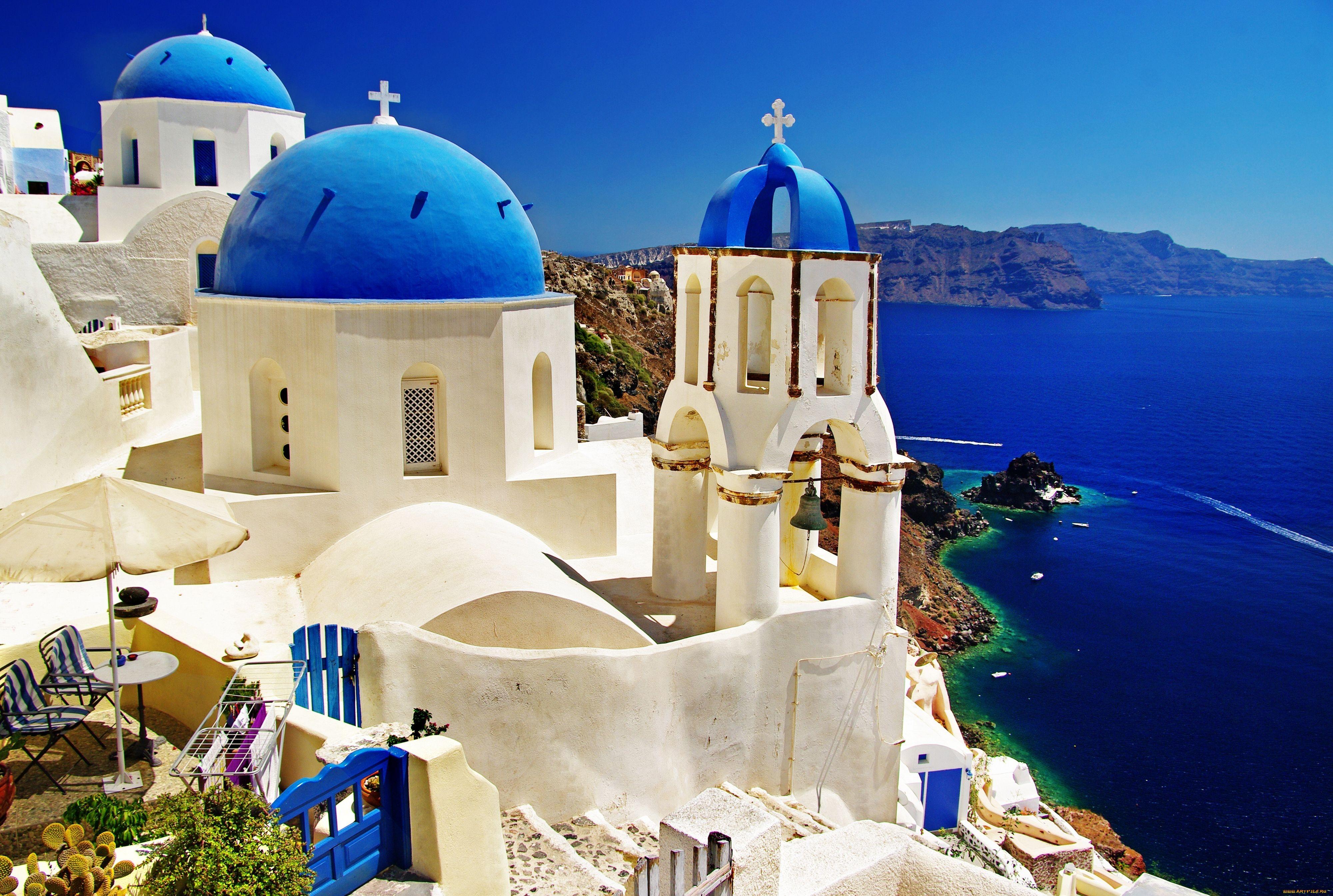 Три грецьких острова в числі 16 найкращих у світі