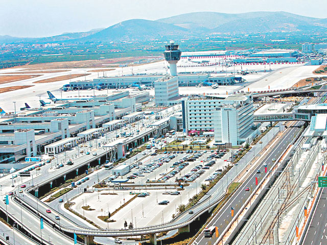 Athens airport is recognized as one of the best in Europe!