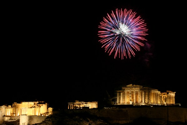 New Year's Eve in Athens