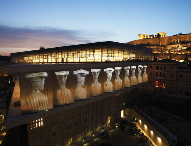Acropolis Museum in the top ten museums in the world