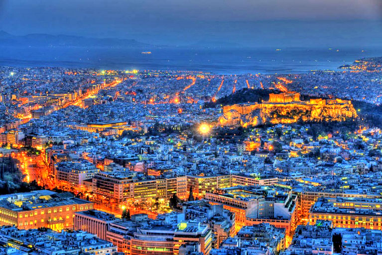 Athens is one of the most popular tourist destinations in the world
