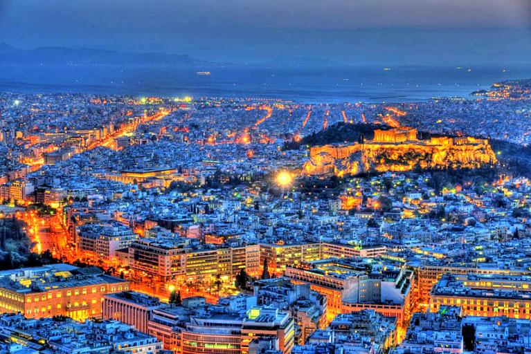 Афіни - один з найпопулярніших туристичних напрямків у світі