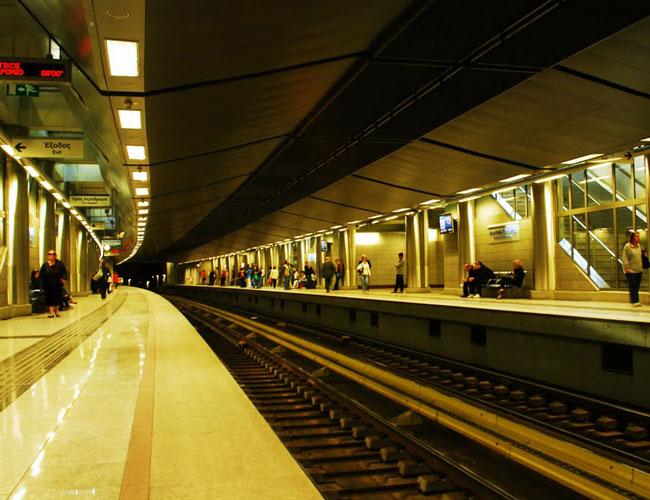 Электронный билет в общественном транспорте Афин