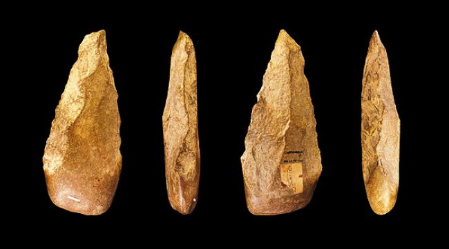 The oldest stone tools- only 3.3 million years old.