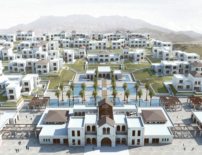 Новий розкішний курорт на Криті з 63 басейнами!